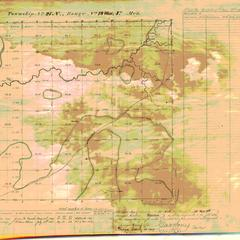 [Public Land Survey System map: Wisconsin Township 27 North, Range 19 West]
