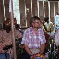 Lee VanDyke and Agbo Folarin at Ladipo wedding