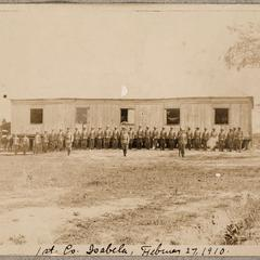 1st Co. Isabela, February 27, 1910