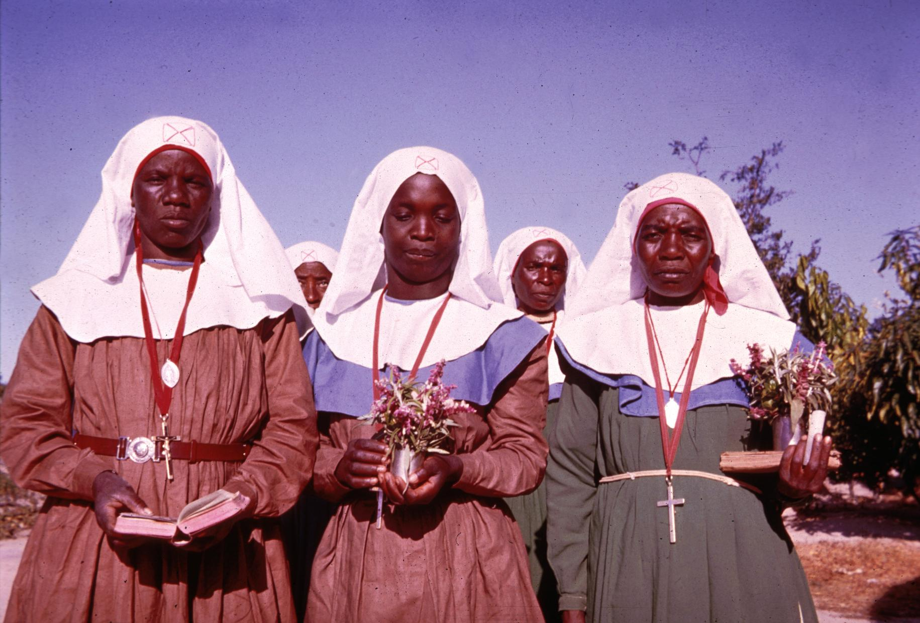 Three Religious Sisters in an African Independent Church