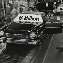 The 6,000,000th American Motors Corporation automobile
