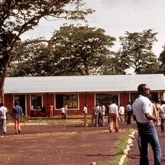 Students in Front of Social Science Building, Unaza-Lubumbashi Campus