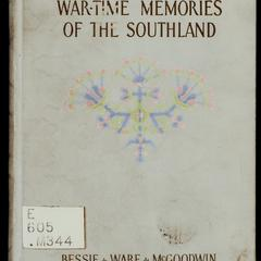 War-time memories of the southland
