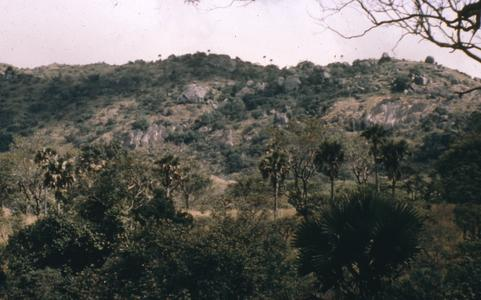 View on plateau