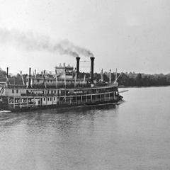 Queen City (Packet/Wharf boat, 1897-1940)