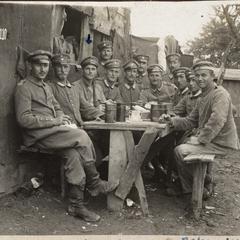 Mein Quartier in Chamont bei Verdun
