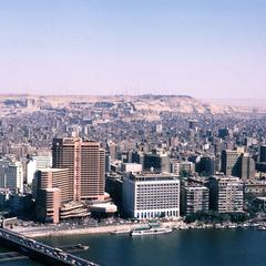 View of Cairo Looking to East