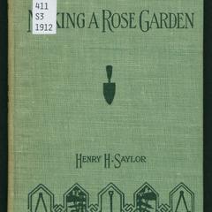 Making a rose garden
