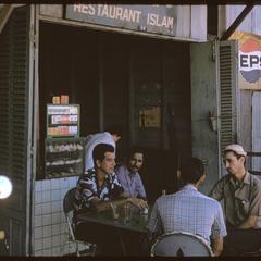 Morning Market : Islamic restaurant