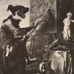 Le singe peintre