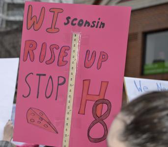 WIsconsin Rise Up Stop H8