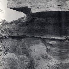 Contact between Mendota and Potsdam sandstone on Grandfather Mountain