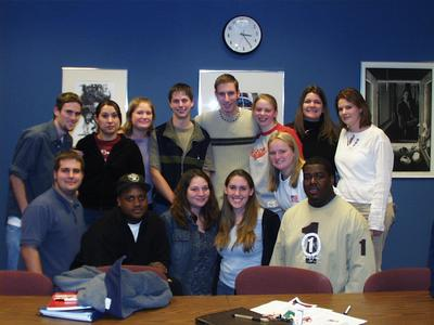 Student government, 2003-04