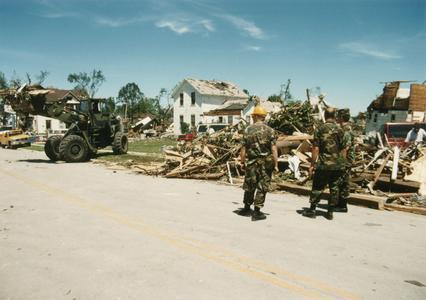 Oakfield tornado