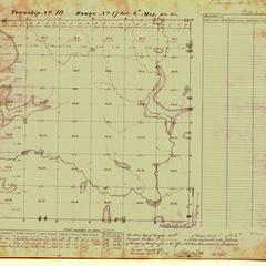 [Public Land Survey System map: Wisconsin Township 10 North, Range 17 East]