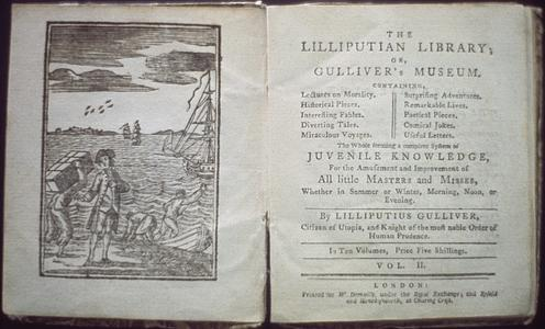 The Lilliputian library, or, Gulliver's museum : containing, lectures on morality, historical pieces, interesting fables, diverting tales, miraculous voyages, surprising adventures, remarkable lives, poetical pieces, comical jokes, useful letters : the whole forming a complete system of juvenile knowledge, for the amusement and improvement of all little masters and misses, whether in summer or winter, morning, noon, or evening