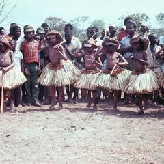 Cokwe Boys in Dance Sequence