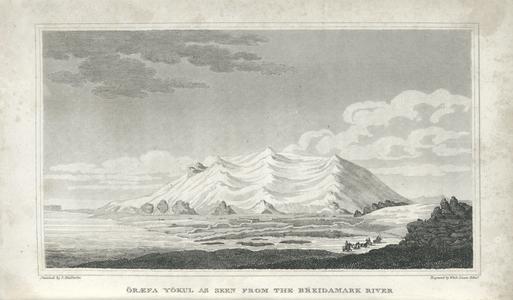 Öræfa Yökul as seen from the Breidamark River