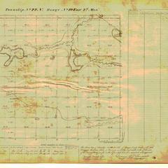 [Public Land Survey System map: Wisconsin Township 22 North, Range 10 East]