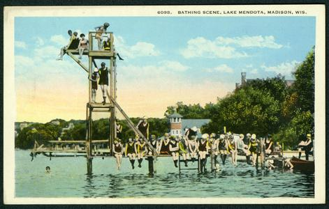 Lake Mendota Diving Platform