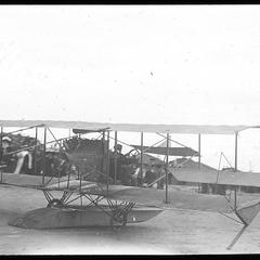 Curtiss just leaving ground