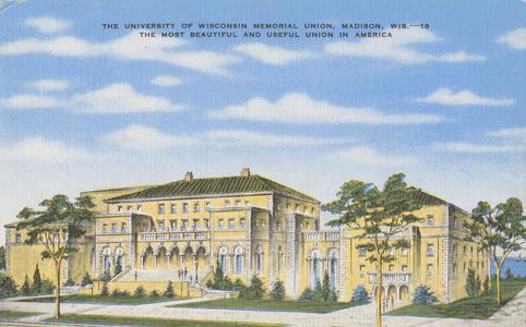 Memorial Union postcard