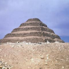 The Step Pyramid of Zozer at Saqqarah
