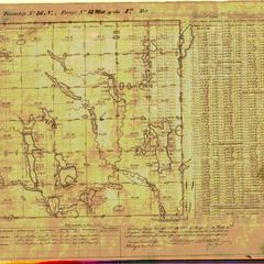 [Public Land Survey System map: Wisconsin Township 36 North, Range 13 West]