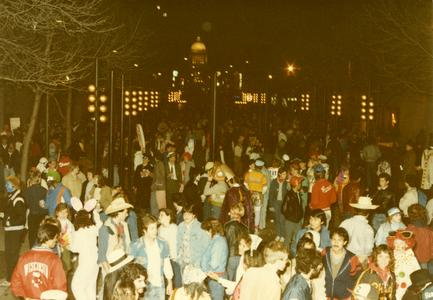 Library Mall, Halloween 1982