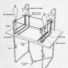 Hasler's olfaction apparatus