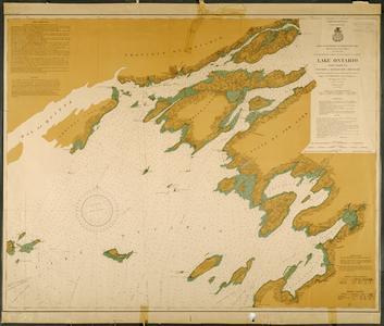 Lake Ontario coast chart no. 1. Stony Point and South Bay Point to Howe Island
