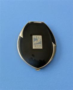 """Elgin American """"1933, A Century of Progress, Chicago"""" souvenir compact"""
