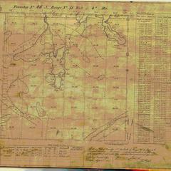 [Public Land Survey System map: Wisconsin Township 46 North, Range 11 West]