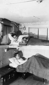 Bunk bed at the CCC camp