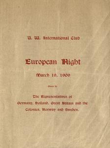 European Night Program, International Club