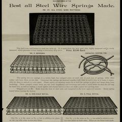 The Kenosha Spring Bed Company, Kenosha, Wisconsin