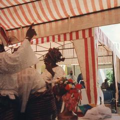 Ifaturoti wedding tent