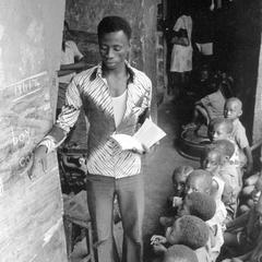 Teacher at Pa Wilson School in Freetown