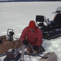 Water sampling North Temperate Lakes Long Term Ecological Research (LTER) (7)