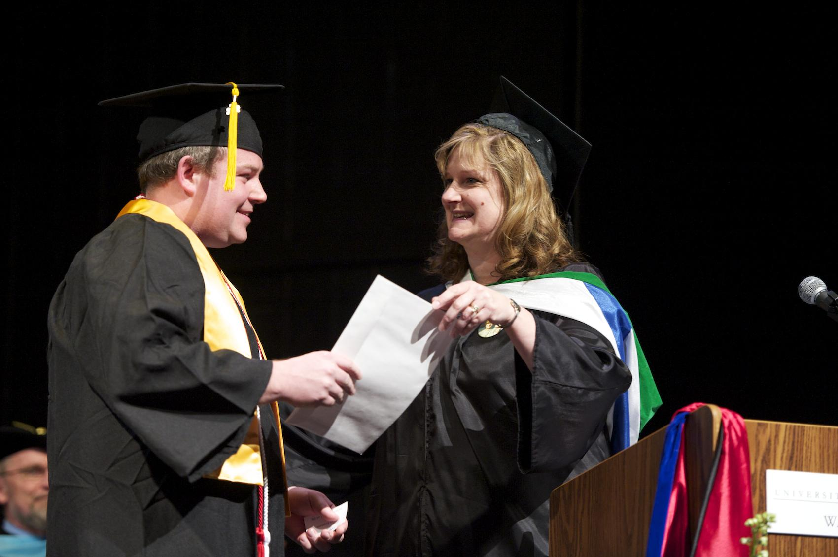 Honors and Degree Ceremony