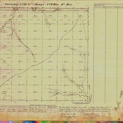 [Public Land Survey System map: Wisconsin Township 15 North, Range 03 West]