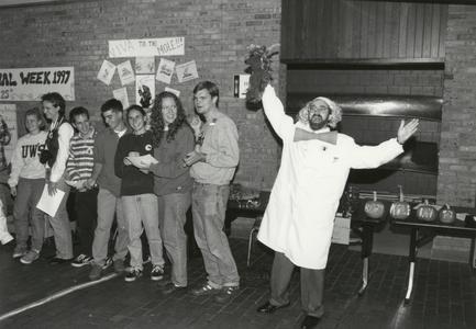 Dr. Michael Vaksman on Mole Day 1997