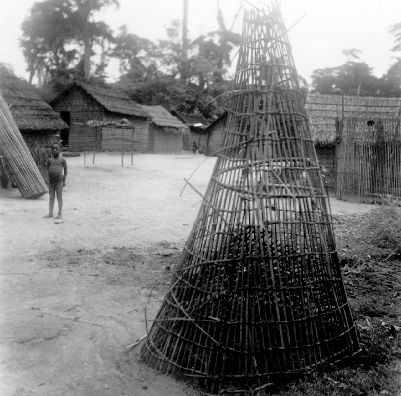 Fish Trap for Use in Kasai River