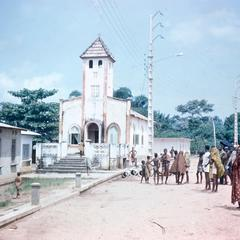 Protetestant Church Across from Abidjan