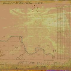 [Public Land Survey System map: Wisconsin Township 41 North, Range 16 East]