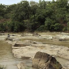Landscape of Gurara Falls
