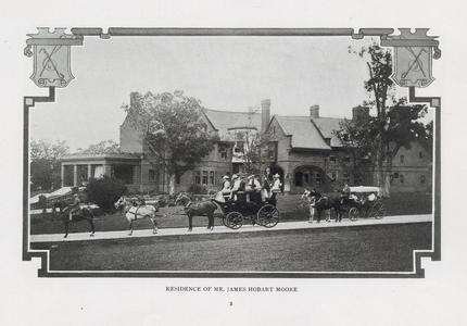 Residence of Mr. James Hobart Moore