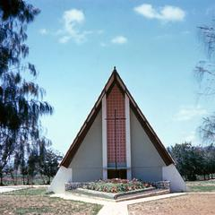 Chapel at Kimpese Institute, a Jesuit Center in Lower Congo Province