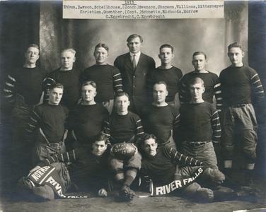 Football team, 1915