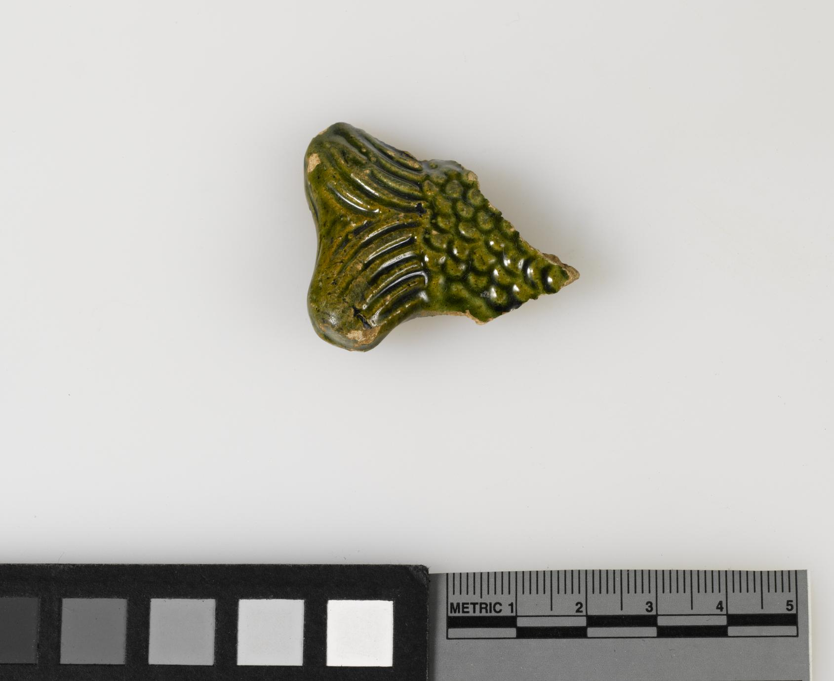 Fish bottle fragment (1 of 2)
